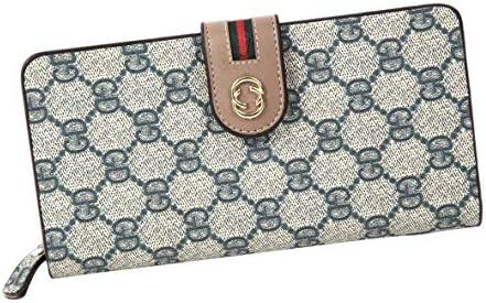 【 LOUVE 】 지갑 여성용 장 지갑 대용량 (카드 12 매입 다기능 고급 PU 가죽) 개 런 티 카드 및 선물 BOX 된 / 【LOUVE】 Wallet Ladies Long Wallet Large Capacity (Card 12 Pieces Storage Multifunction Luxury PU Leather) Guarantee CardPres...