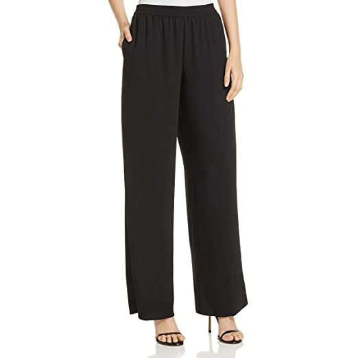 aab5e7a31ff VINCE CAMUTO Women s Matte Shine Crepe Wide Leg Pull-on Pants at Amazon  Women s Clothing store
