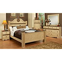 Sandberg Furniture 436H Casa Blanca Bedroom Set, California King