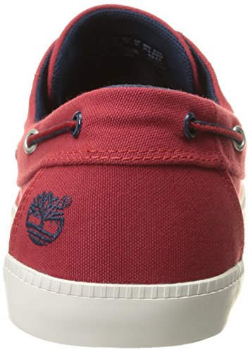 Bay Timberland Shoes Ox Newport Red Red Eye Boat 2 Men's Haute TwFwpxqE