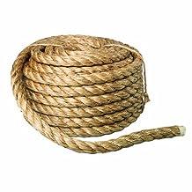 Bon 14-241 50-Feet by 3/4-Inch Diameter Heavy Duty Manila Rope