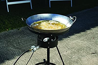 Texsport 54,000 BTU Propane Outdoor Wok Cooking Set from Texsport