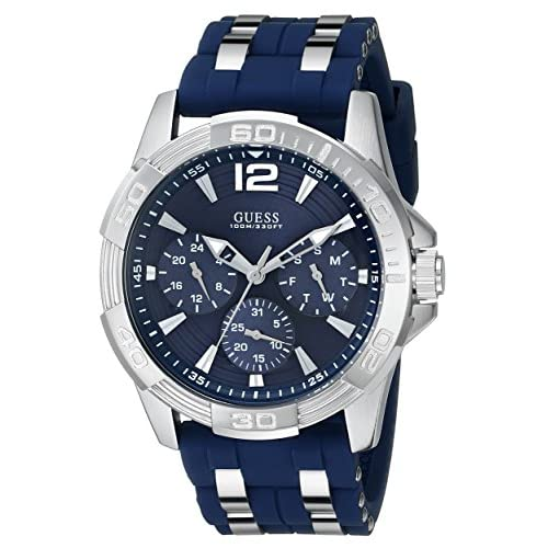 GUESS  Iconic Blue Stainless...
