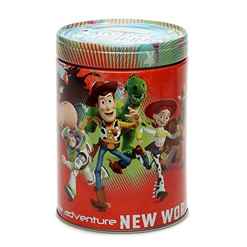 Toy Story Round Tin Coin Bank a World of Possibility