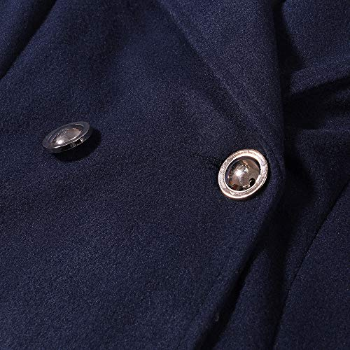 COTTONI-Coat Hanger Stand,Jackets for Months,Womens Jackets,Snowmobile Men,Christmas Sweater,Dark Blue,XL