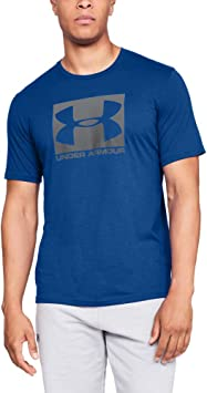 Camiseta/UNDER ARMOUR:Boxed Sportstyle S Azul
