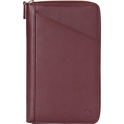 (Samsonite Leather Travel Wallet (Sangria))