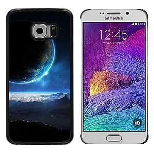 Be Good Phone Accessory // Dura Cáscara cubierta Protectora Caso Carcasa Funda de Protección para Samsung Galaxy S6 EDGE SM-G925 // Space Planet Galaxy Stars 42
