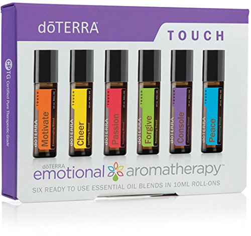 doTERRA - Emotional Aromatherapy System Touch Kit - 6 10 mL Roll-ons by DoTerra