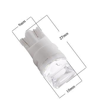 Amazon Com Gll 194 T10 Led Light Bulb Non Polarity 168 2825 W5w