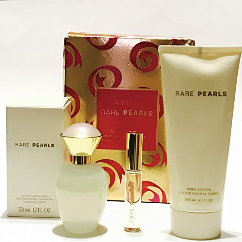 Avon Rare Pearls 3 Pcs Perfume Collection Gift Set
