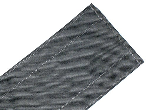 Safcord Carpet Cord Covers 3'' Wide (30FT Long, Gray) by Safcord