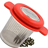 Royal-Tea Tea Infuser with Large Extra Fine Tea Filter for Teapots, Mugs, and Cups.