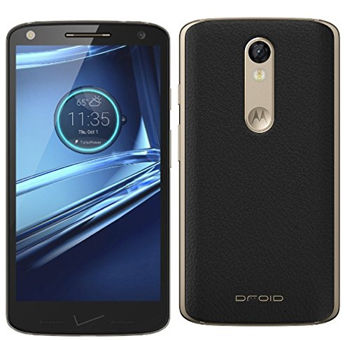 Motorola DROID Turbo 2 XT1585 32GB - Black Leather (Verizon Wireless) Unlocked