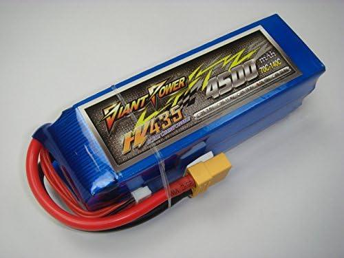 HV-LiPo19.0V-4500mAh(70C)ハイヴォルテージリポバッテリー:Giant Power