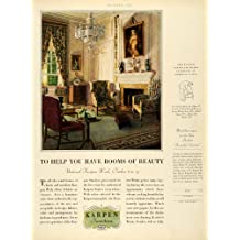 1928 Ad Salem Room Edgar Jenney Karpen Furniture Chair Interior Design Decor - Original Print Ad