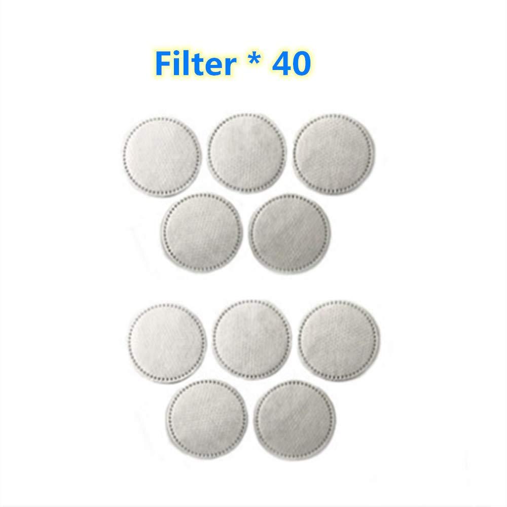 Máscara de polvo eléctrico inteligente, mascarilla contra el polvo para niños, filtro de carbón activado a prueba de polvo antibacteriano cara máscara 60g, nivel de