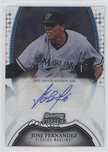 Jose Fernandez (Baseball Card) 2011 Bowman Sterling - MLB Future Stars Autographs #BSP-JF