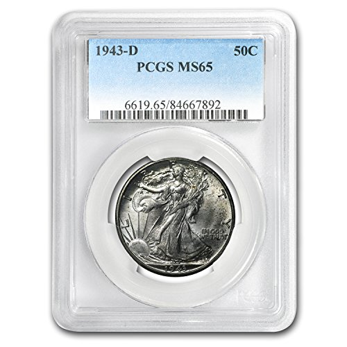1943 D Walking Liberty Half Dollar MS-65 PCGS Half Dollar MS-65 PCGS
