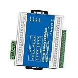 Fityle TCP Ethernet Data Acquisition IO module M160T - WEB, LAN, PLC Remote Control DC24V