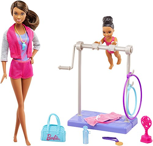 Barbie Gymnastics Doll Playset