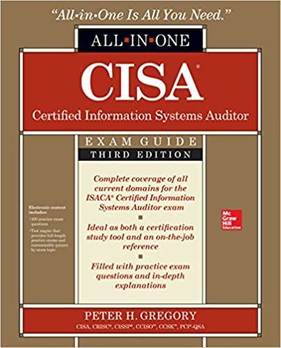 Amazon cisa certified information systems auditor all in one amazon cisa certified information systems auditor all in one exam guide third edition ebook peter h gregory kindle store fandeluxe Gallery