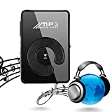 Bifast Mini Fashion Clip Sport USB Micro SD TF Mirror C Button MP3 Music Media Player (Black)