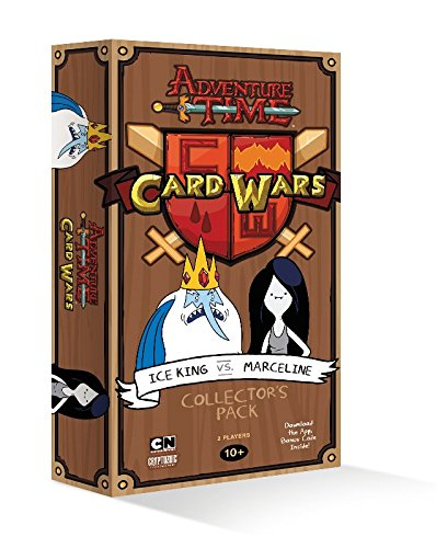 Adventure Time Card Wars Ice King vs. Marceline Card (Adventure Card)