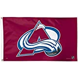 WinCraft NHL Colorado Avalanche Deluxe Flag, 3' x 5'