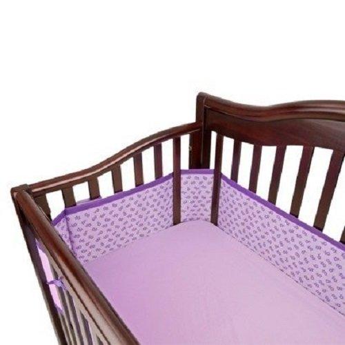 Amazon Com Breathable Baby Mesh Crib Liner Geo Girls