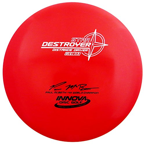 Innova Star Destroyer Disc Golf Paul McBeth Distance Driver (Colors Will Vary)