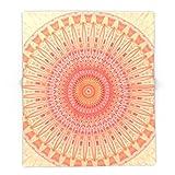 Society6 Mandala Mental Health 88'' x 104'' Blanket