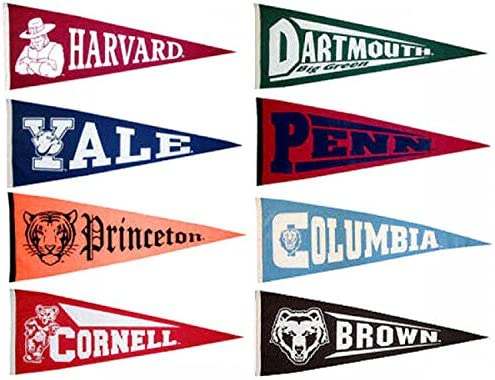 photograph regarding College Pennants Printable known as : Ivy League Wool College or university Pennant Choice