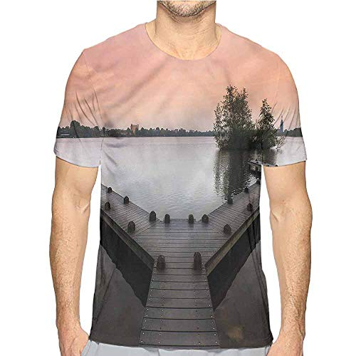 t Shirt Forest,Amsterdam in Spring Season Printed t Shirt -