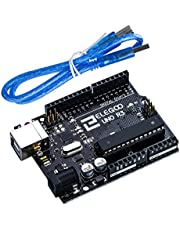 ELEGOO UNO R3 Board ATmega328P ATMEGA16U2 with USB Cable Compatible with Arduino IDE Projects RoHS Compliant