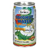 Grace Coconut Water, 11.5000-ounces (Pack of24)