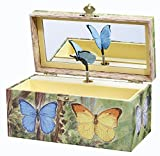 Enchantmints Butterfly Music Jewelry Box