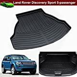 1pcs New Leather Car Rear Trunk Cargo Mat Cargo Liner Cargo Tray Boot Mat Boot Liner Boot Tray Custom Fit For Land Rover Discovery Sport 5-Seater 2015 2016 2017
