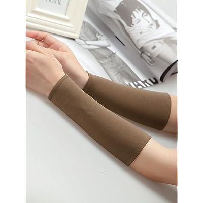 Le bracelet messieurs de l'ombre en été et le tattoo long sleeve le mouvement des bras pour essuyer la sueur de poignets de poignets ensemble la fille et slim décoration ,25cm- L-2, Vert armée