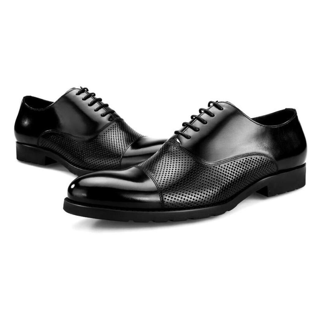 Zxcvb Sommer Männer Europa Und Amerika Business Casual Spitz Schuhe Leder Coole Schuhe Hohl Breathable Herren Sandalen