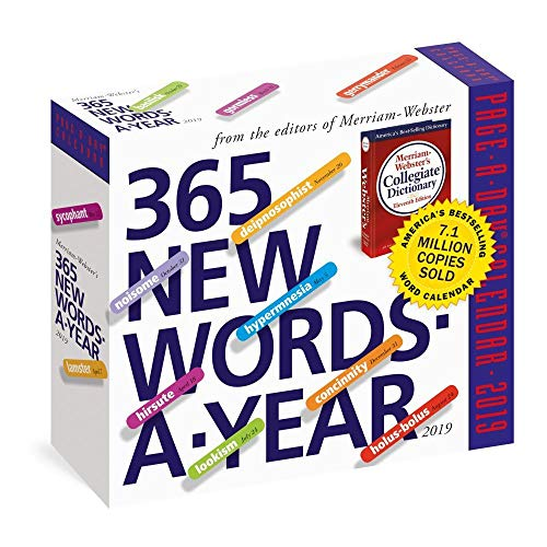 365 New Words-A-Year 2019 Page-A-Day Calendar