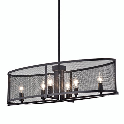 Oval Shade Pendant Light in US - 4