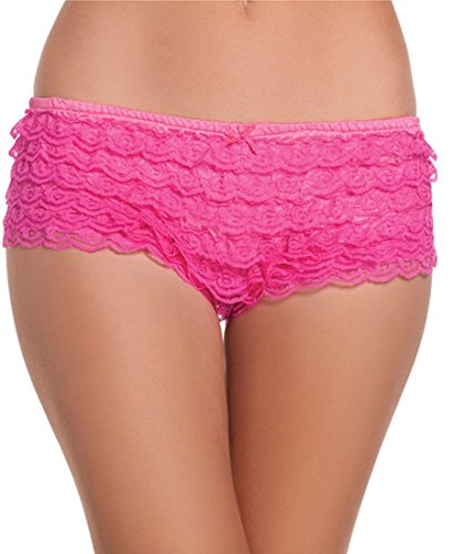 Wicked Ruffle Hot Pants - 2
