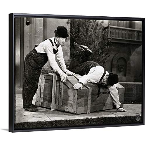 Laurel and Hardy - B and W Music Box 3