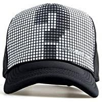 EASY4BUY® Boy's and Girl's Printed Half Net Fabric Baseball Front Side Mens Cap(Side Question)