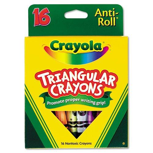 Crayola Products Triangular development Non washable