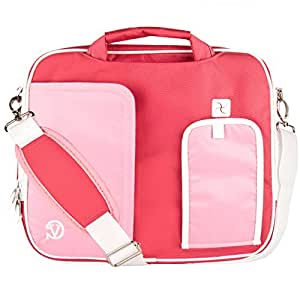 """VG Pindar Edition Messenger Bag Carrying Case (Creamy Pink) for Microsoft Surface RT 2 / Pro 2 10"""" Tablets"""