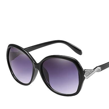 Amazon.com: Wsunglass The new lady fashion HD gafas de sol ...