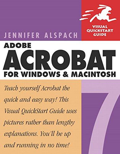 Adobe Acrobat 7 for Windows & Macintosh -