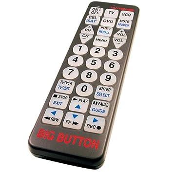 Big Button TV Universal Remote